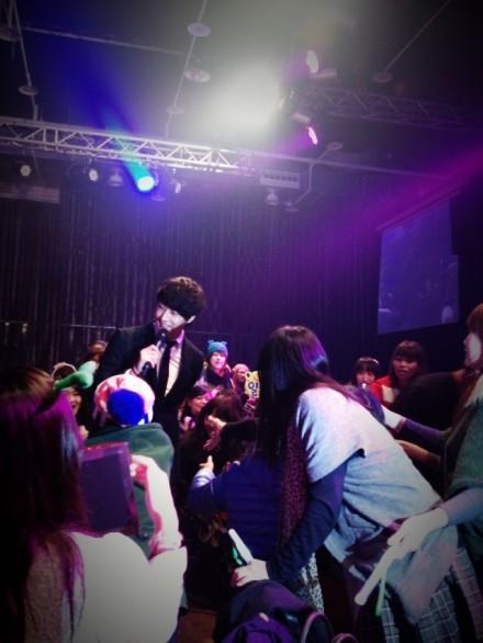 Jung II-woo at Taiwan's Fan Meeting 2012 12 8 Taken by Fans00010