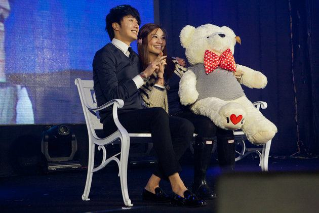 Jung II-woo at Taiwan's Fan Meeting 2012 12 8 With Fans00008