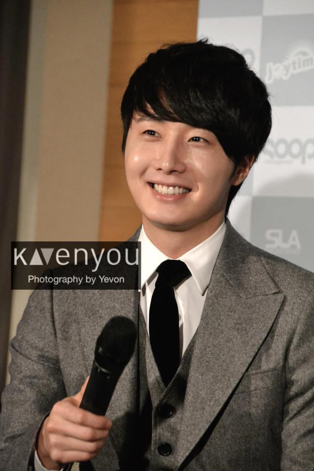 Jung II-woo at Taiwan's Press Conference 12 7 201200007