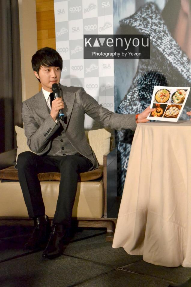 Jung II-woo at Taiwan's Press Conference 12 7 201200012