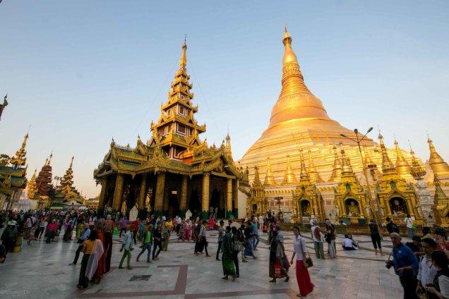 The Temples of the Shwedagon Pagoda Cr. Thong Do 2