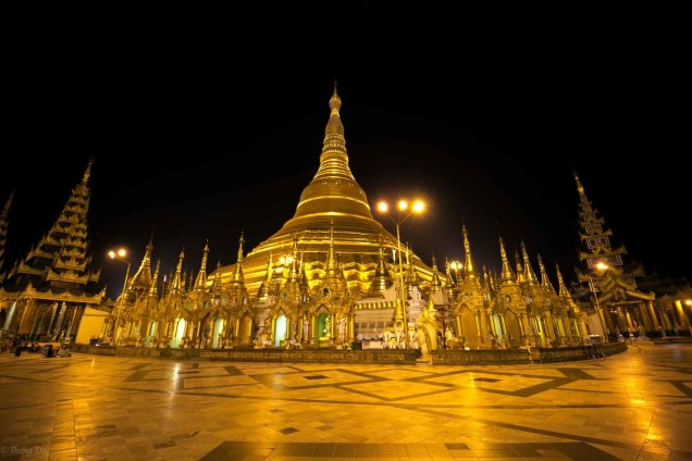The Temples of the Shwedagon Pagoda Cr. Thong Do