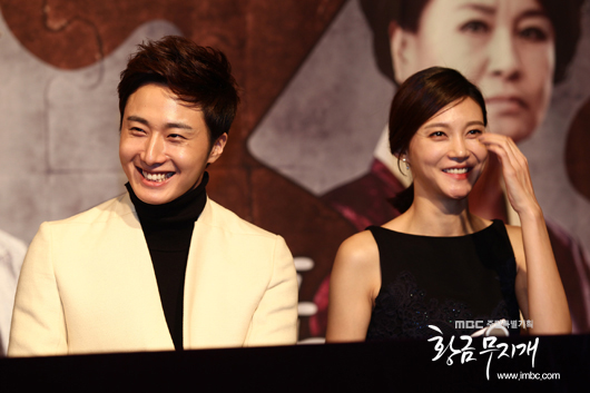 2013 10 31 Jung II-woo in the Golden Rainbow Press Conference 00021