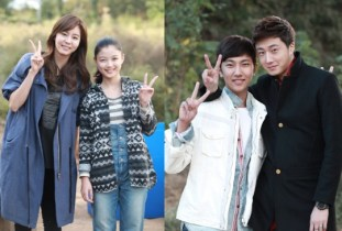2013 10 Jung II-woo Golden Rainbow, Meeting younger cast...00002
