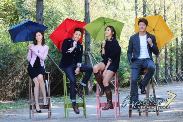 2013 10 Jung II-woo Golden Rainbow Poster Shoot Behind the Scenes Cr. MBC, Cupitter00015