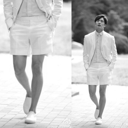 Jung II-woo We love you from hair to toes. The leg:foot edition.5