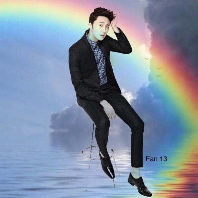 Rainbow Ilwoo by Fan 13 5