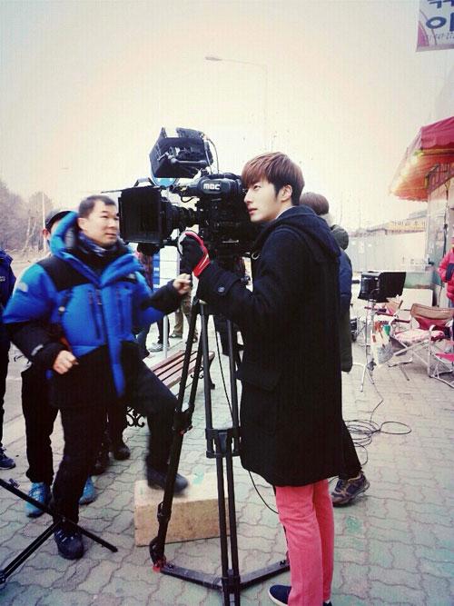 2014 01 Jung II-woo Golden Rainbow Ep 21 BTS 4
