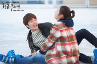 2014 Jung II-woo in Golden Rainbow Episode 23 Ice Skating 6
