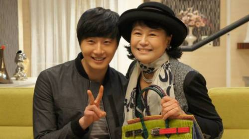 Jung II-woo in Golden Rainbow Last Days of Shooting 1