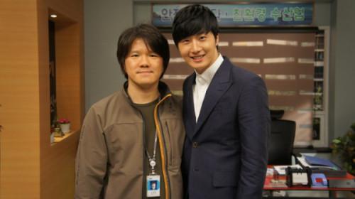 Jung II-woo in Golden Rainbow Last Days of Shooting 2