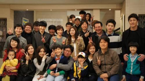 Jung II-woo in Golden Rainbow Last Days of Shooting 7