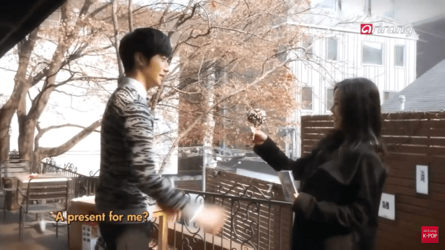 Jung II-woo in interview for Arirang TV. March 2014 1