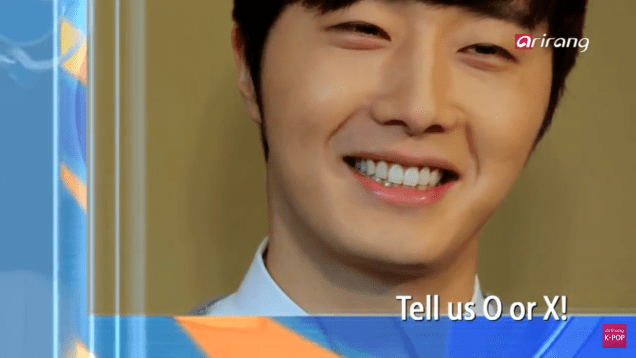 Jung II-woo in interview for Arirang TV. March 2014 13