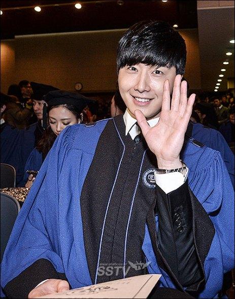 Jung II-woo's Graduation Hanyang University 2014 2 20 1