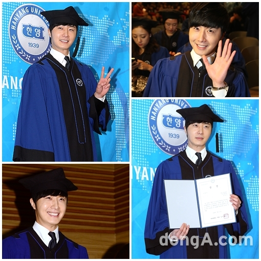 Jung II-woo's Graduation Hanyang University 2014 2 20 34