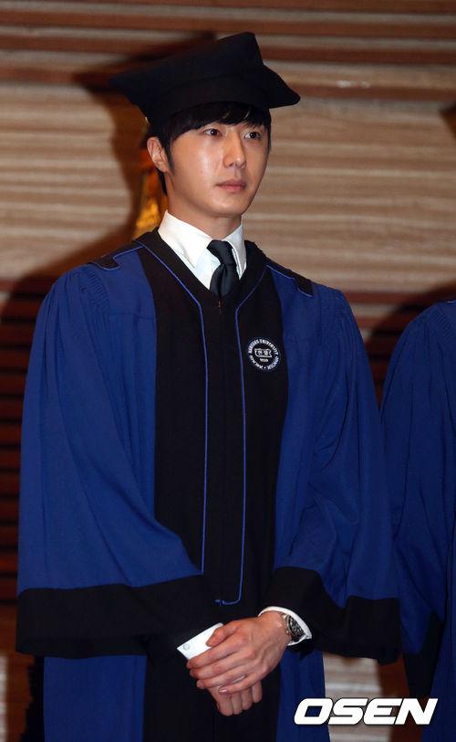 Jung II-woo's Graduation Hanyang University 2014 2 20 9