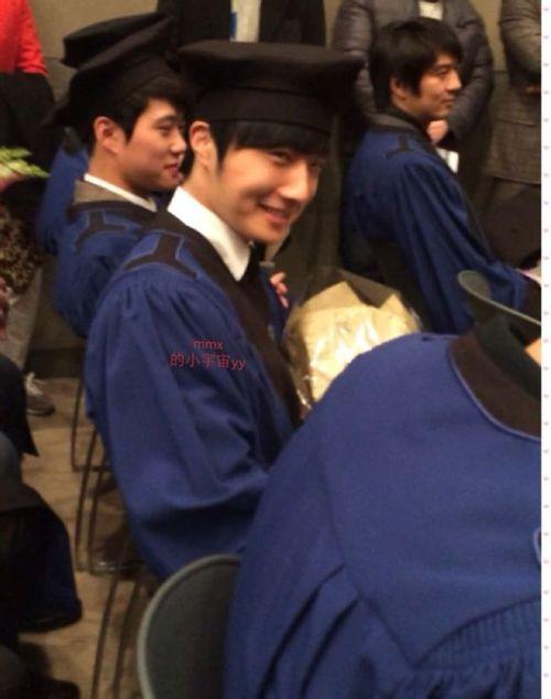 Jung II-woo's Graduation Hanyang University 2014 2 20 Fan Taken 4