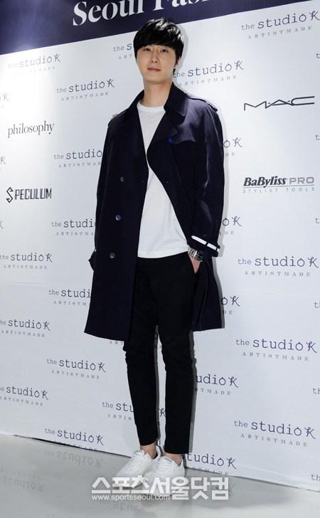Jung Il-woo in Seoul Fashion Week 2014 4