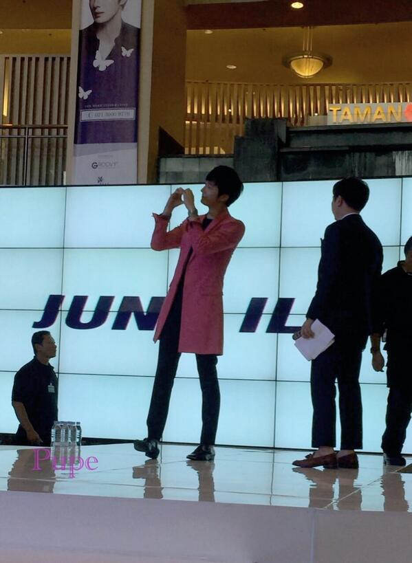 2014 5 27 Jung II-woo in Greet and Meet Holika Holika Greet and Meet 25