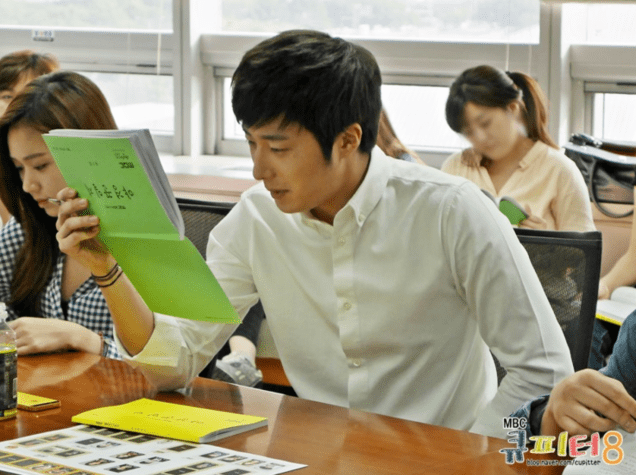 2014 6 12 Jung II-woo at the Night Watchman's Journal Script Reading by Cupitter9 4