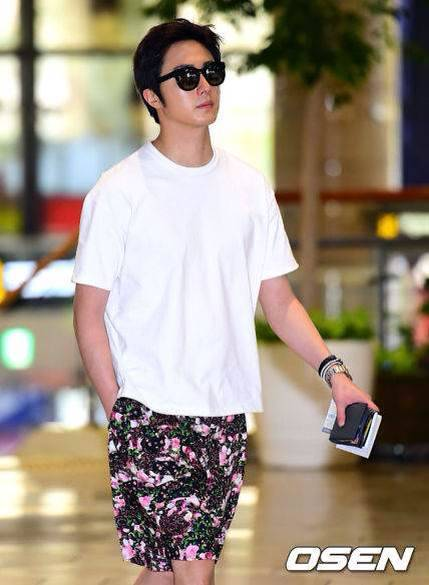 2014 6 5 Jung II-woo Japan Airport Arrival 2