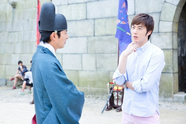 2014 7 Jung Il-woo Visiting set of TNWJ 1