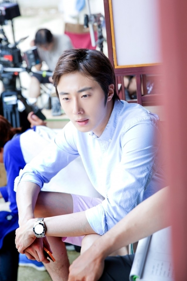 2014 7 Jung Il-woo Visiting set of TNWJ 3