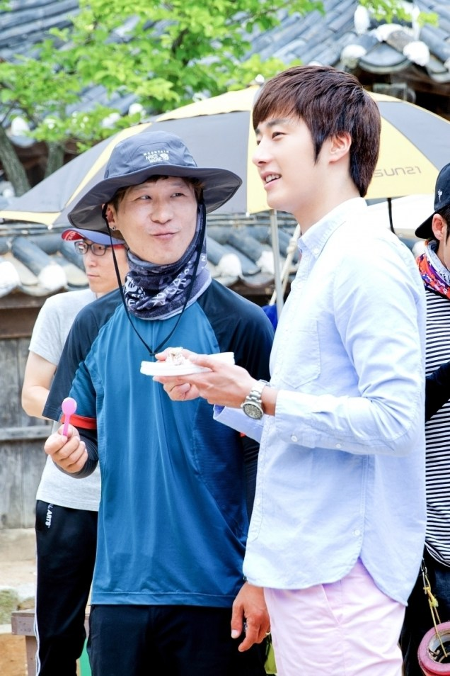 2014 7 Jung Il-woo Visiting set of TNWJ 5