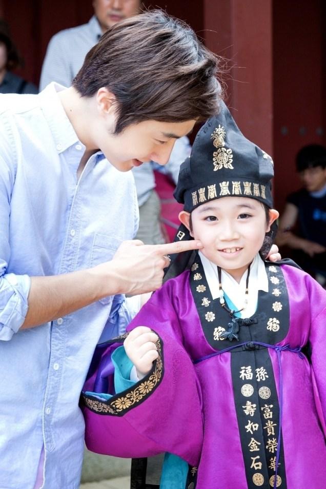 2014 7 Jung Il-woo Visiting set of TNWJ 7