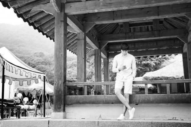 2014 7 Jung Il-woo Visiting set of TNWJ 8