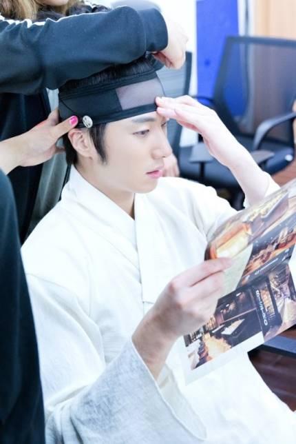 "2014 8 5 Jung II-woo ""here comes Prince Lee Rin"" Cr. Starcast 23.jpg"