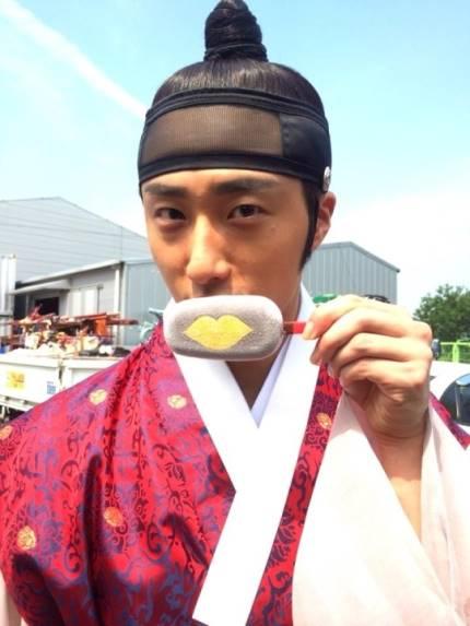 "2014 8 5 Jung II-woo ""here comes Prince Lee Rin"" Cr. Starcast 26.jpg"