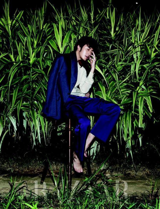 2014 8 Jung Il-woo for Harper's Bazaar Magazine 5
