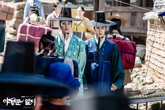 2014 9 Jung II-woo in Night Watchman's Journal Episode 10 BTS Cr.MBC 16