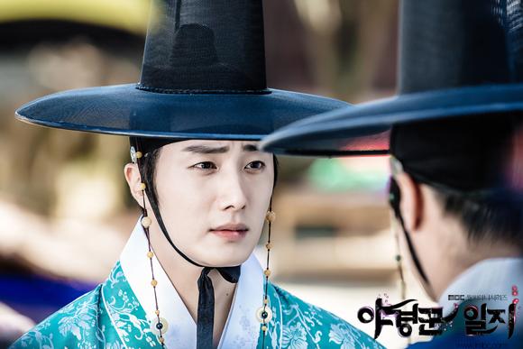 2014 9 Jung II-woo in Night Watchman's Journal Episode 10 BTS Cr.MBC 7