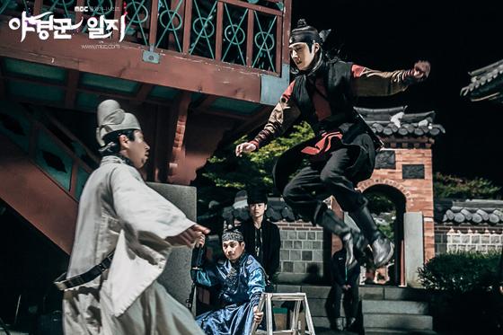 2014 9 The Night Watchman's Journal Epi 14 BTS Ex 6