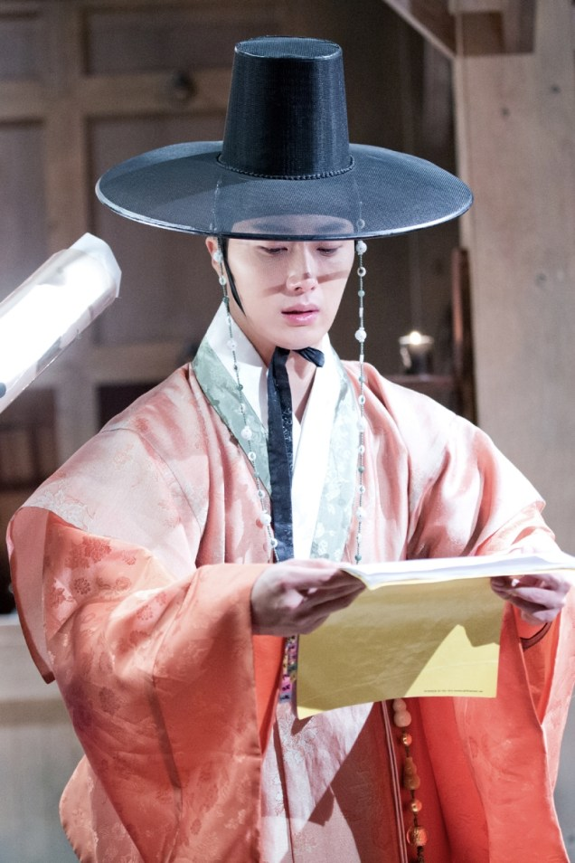 2014 9 The Night Watchman's Journal Episode 15 BTS . Cr. jungilwoo.com2