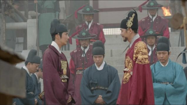 Jung II-woo in The Night Watchman's Journal Episodes 15 & 16