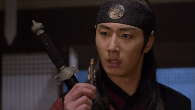 2014 9:10 Jung Il-woo in THe Night Watchman's Journal Episode 18 19