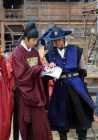2014 9:10 Jung Il-woo in THe Night Watchman's Journal Episode 20 BTS1