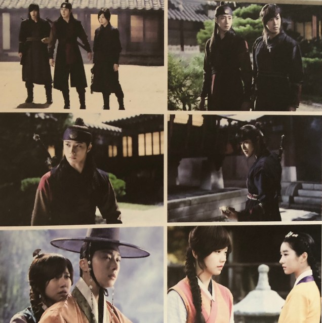 2014 Jung II-woo in the CD of the OST for The Night Watchman's Journal 12