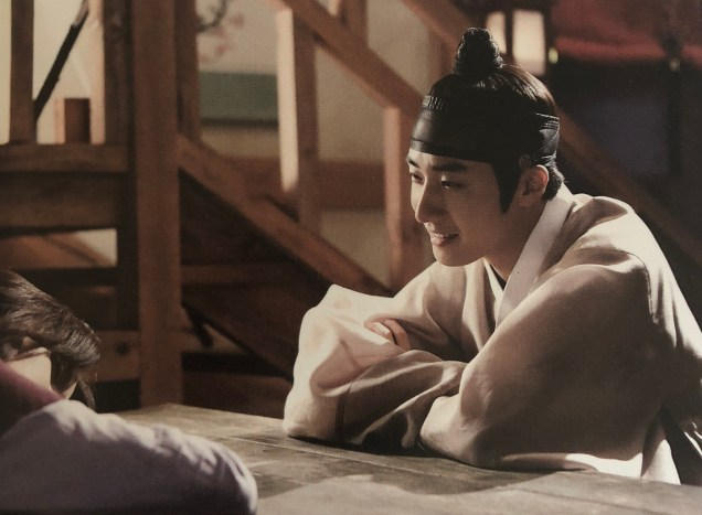 2014 Jung II-woo in the CD of the OST for The Night Watchman's Journal 7