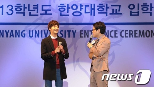 Jung II-woo at Hanyang University. Compilation by Fan 13 Jung Il-woo Delights. 15