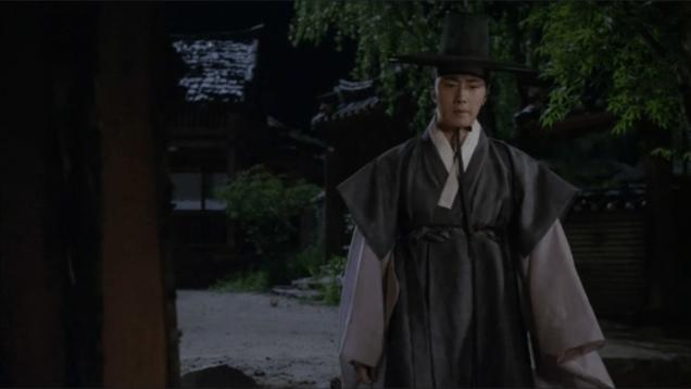 Jung II-woo in The Night Watchman's Journal Ep 8 29