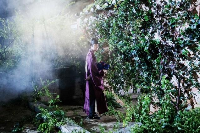 Jung II-woo in the Night Watchman's Journal Episode 5 BTS Cr. MBC 15