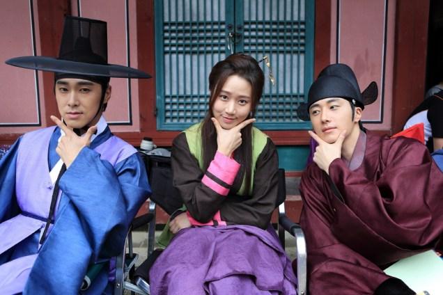Jung II-woo in the Night Watchman's Journal Episode 5 BTS Cr. MBC 26
