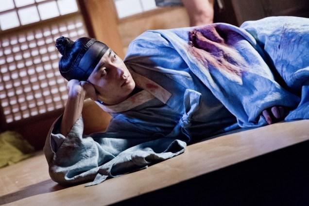 Jung II-woo in the Night Watchman's Journal Episode 6 BTS Cr. MBC 30