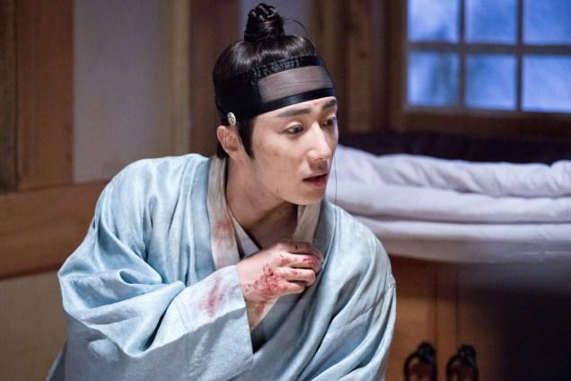 Jung II-woo in the Night Watchman's Journal Episode 6 BTS Cr. MBC 38