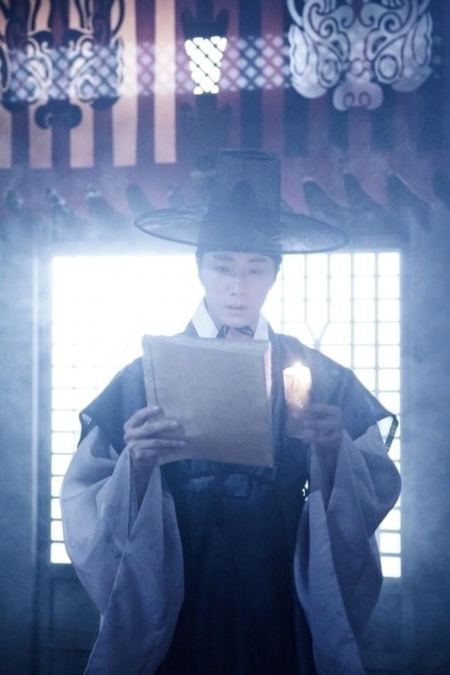Jung II-woo in the Night Watchman's Journal Episode 7 BTS Part 2 Cr. jungilwoo.com 10